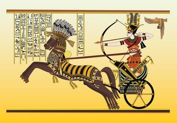 Ancient Egypt Vector Art - vector gratuit #157295
