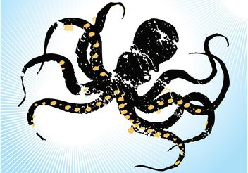 Sketchy Octopus - vector gratuit #157505