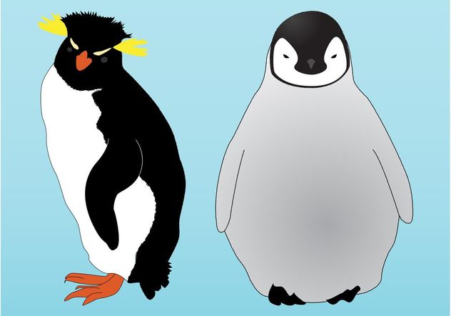 Penguins Graphics - Free vector #157685