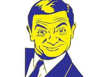 Mr Bean - Free vector #158215