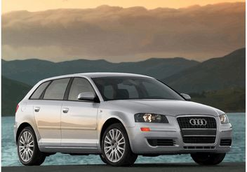Audi A3 Wallpaper - vector gratuit #158345