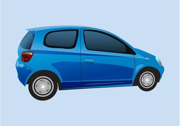 Small Car Vector - vector gratuit #158395
