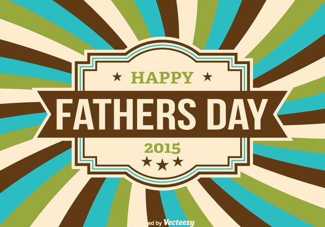 Father's Day Vector Illustration - Free vector #158485