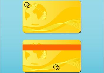 Bank Card - vector gratuit #159005