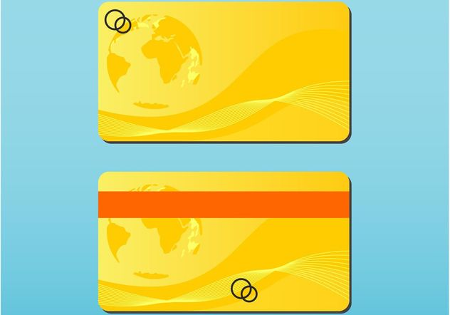 Bank Card - Free vector #159005