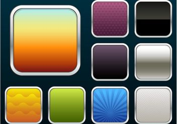 iOS App Icons - vector #159015 gratis