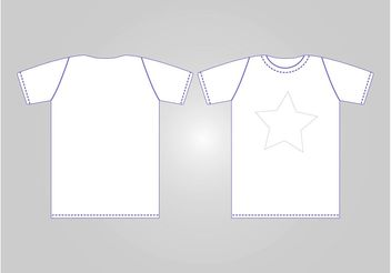 Basic T-Shirt - Kostenloses vector #159055