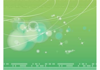 Green Background Vector - vector #159205 gratis