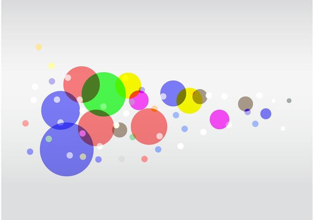 Colorful Circles Vector - vector gratuit #159255