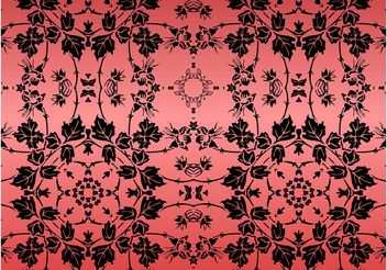 Floral Pattern Design - vector #159265 gratis