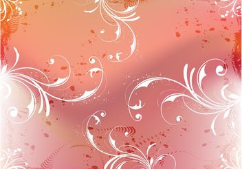 Floral Vector Composition - vector #159285 gratis