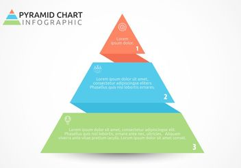 Free Flat Pyramid Chart Vector Design - Kostenloses vector #159465