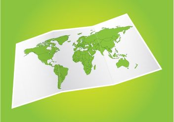 Vector World Map - vector #159545 gratis