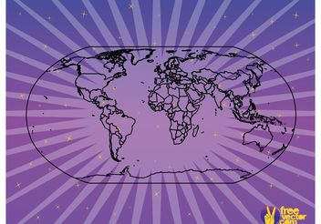 Map Outlines - vector #159645 gratis