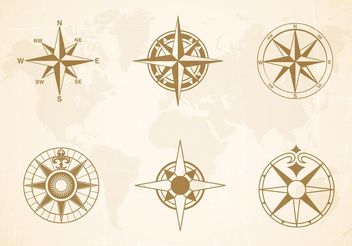 Free Nautical Charts Vector - vector gratuit #159675