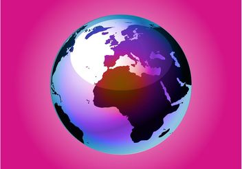 Colorful World Vector - Free vector #159835