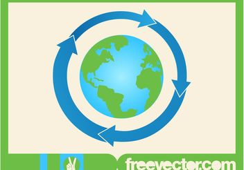 Earth Icon Vector - vector gratuit #159855