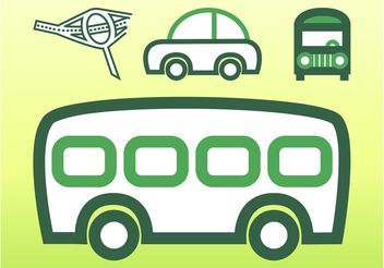 Transportation Vector Graphics - Free vector #159965