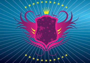 Shield Vector Graphic - vector #160045 gratis
