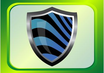 Shield Vector - vector gratuit #160175