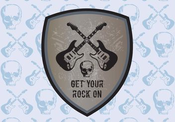 Rock Graphics - vector gratuit #160475