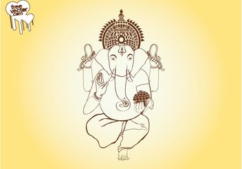 Ganesha Graphics - Free vector #160565