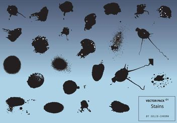 Ink Stains - vector gratuit #160645