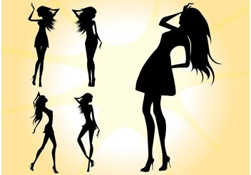 Sexy Models - Free vector #160835