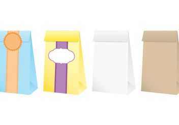 Small Paper Bags - Free vector #161055