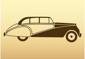 Vector Retro Car - vector gratuit #161365