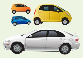 Cars Vector Graphics - Free vector #161425