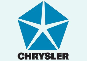 Chrysler Logo - vector gratuit #161545