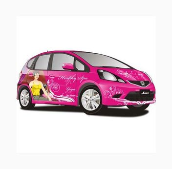 All New Jazz Car Vector - vector gratuit #161645
