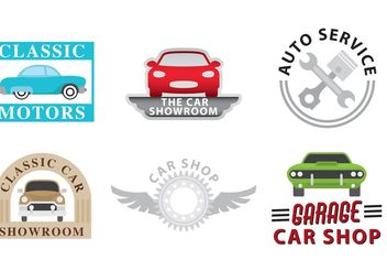 Car Dealership Logo Vectors - Kostenloses vector #161725