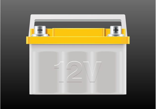 Vector Battery - Kostenloses vector #161845