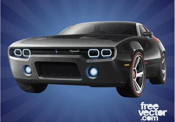 Plymouth Road Runner - vector #161875 gratis