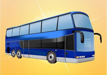 Tourist Bus - vector gratuit #162015