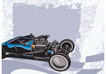 Race Car Graphics - Free vector #162105