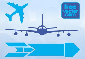 Aircraft Icons - Free vector #162485