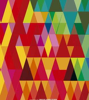 Geometric Abstract Triangles - vector gratuit #162635