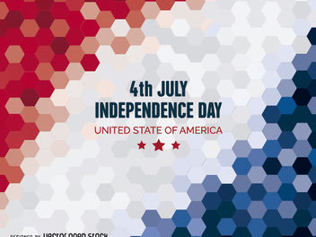 Independence Day background - Kostenloses vector #162765