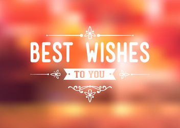 Greeting Decoration Colorful Blurry Background - Kostenloses vector #163045