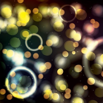 Colorful Shiny Bokeh Background - Kostenloses vector #163465
