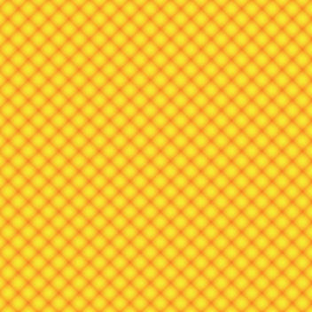 Yellow Orange Seamless Diamond Pattern - Free vector #163475