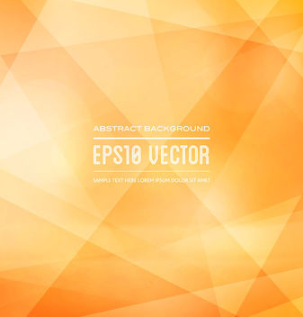 Classic Orange Triangular Texture Background - Free vector #163665