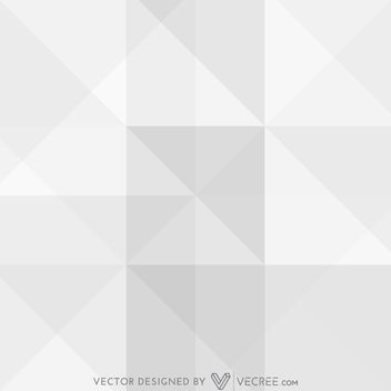 Grey Abstract Square Formed Triangles Pattern - vector gratuit #164135