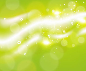 Bright Green Bokeh & Shade Background - vector #165625 gratis