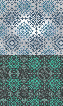 Slavonic Seamless Ornamental Pattern - vector #166135 gratis
