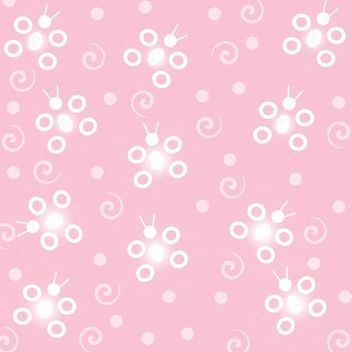 Abstract Funky Butterfly Pink Background - Kostenloses vector #166695