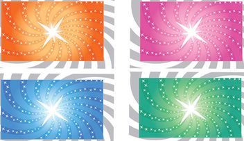 Sparkling Sunbeam Vortex Background - Free vector #166835